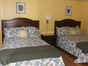 1st floor dbl 2 beds
